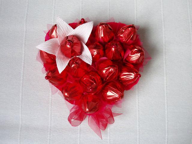 Подарки на день влюбленных мастер класс